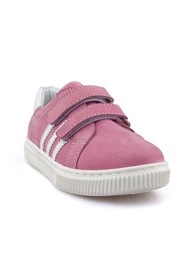 Cici Bebe Ayakkabı Nubuk Kız Çocuk Ayakkabısı Pembe